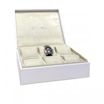 EDEN ROC Uhrenbox für Sammler (weiß)